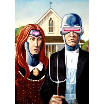 Casal X-Men