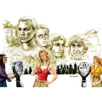 Monte Rushmore Big Bang Theory