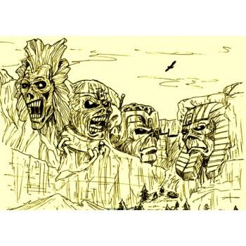 Monte Rushmore Iron Maiden