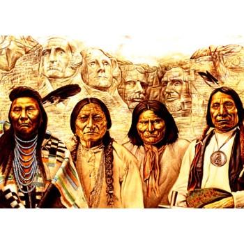 Monte Rushmore Índios