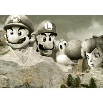 Monte Rushmore Mario