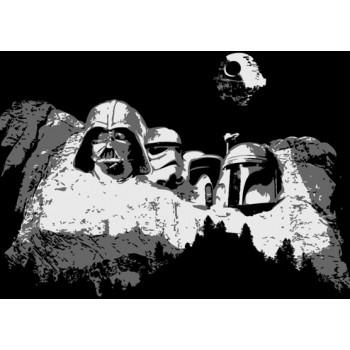 Monte Rushmore Star Wars