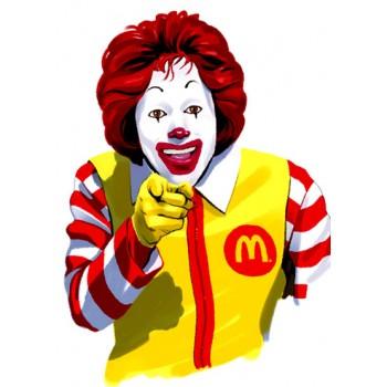 Tio Sam Ronald Mc Donald´s