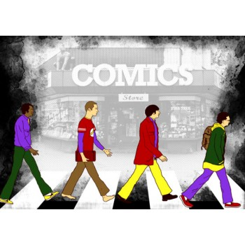 Abbey Road Big Bang Theory