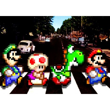 Abbey Road Mario Bros