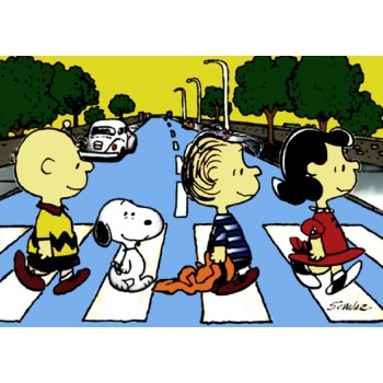 Abbey Road Snoopy