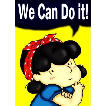 Feminismo Lucy Snoopy