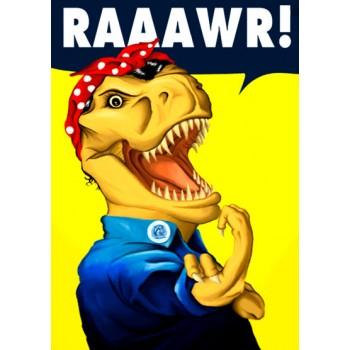 Feminismo T-Rex