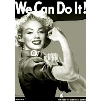 Feminismo Marilyn Monroe Sem Cor
