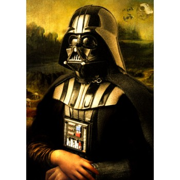 Monalisa Star Wars Darth Vader