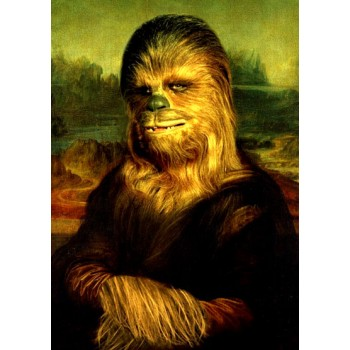 Monalisa Star Wars Chewbacca