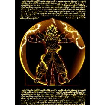 Vitruvian Dragon Ball Z