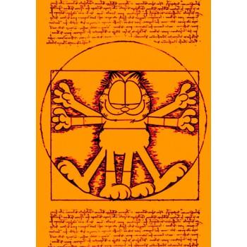 Vitruvian Garfield