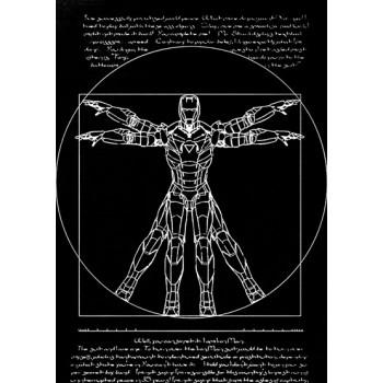 Vitruvian Iron Man