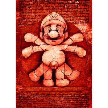 Vitruvian Mario Bros