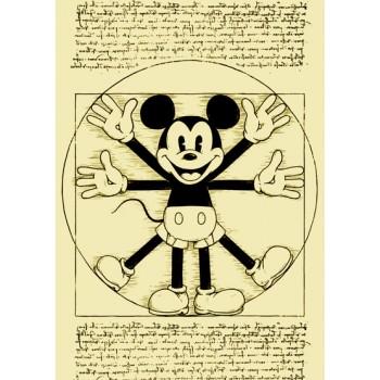 Vitruvian Mickey
