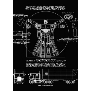 Vitruvian Optimus Prime