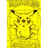 Vitruvian Pikachu