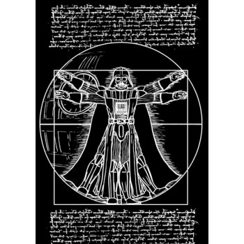 Vitruvian Star Wars Darth Vader