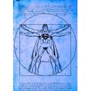 Vitruvian Super Man